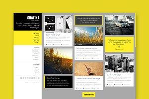 Grafika - Portfolio HTML Template