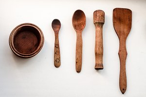 wooden tableware handmade