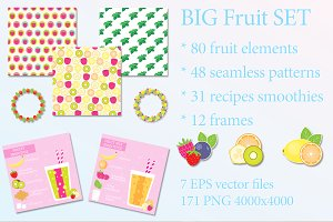 Big Fruit Set (eps, png)