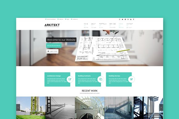 Arkitekt Architecture HTML Templat