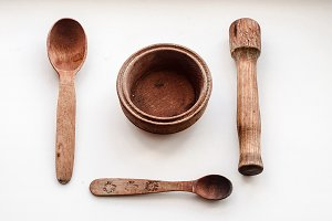 Vintage kitchen utensils made