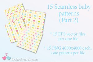 Seamless baby patterns (part 2)