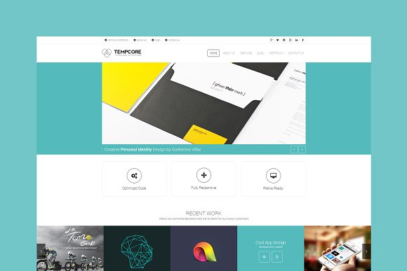 Tempcore - Corporate HTML Template ~ HTML/CSS Themes ~ Creative Market