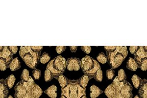 Rock Motif Geometric Seamless Pattern Mosaic