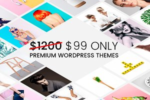 33 WordPress Themes - Mega Bundle