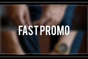 Fast Promo (After Effect Template)