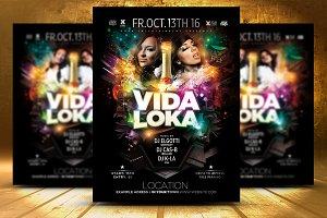 VIDA LOKA Poster