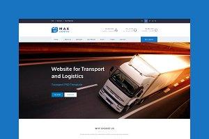 Max Logistics - HTML Templateta