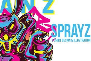 Sprayz Canz Illustration