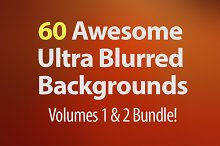 60 Ultra Blurred Backgrounds Bundle