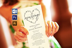 Wedding Program Wpc 113
