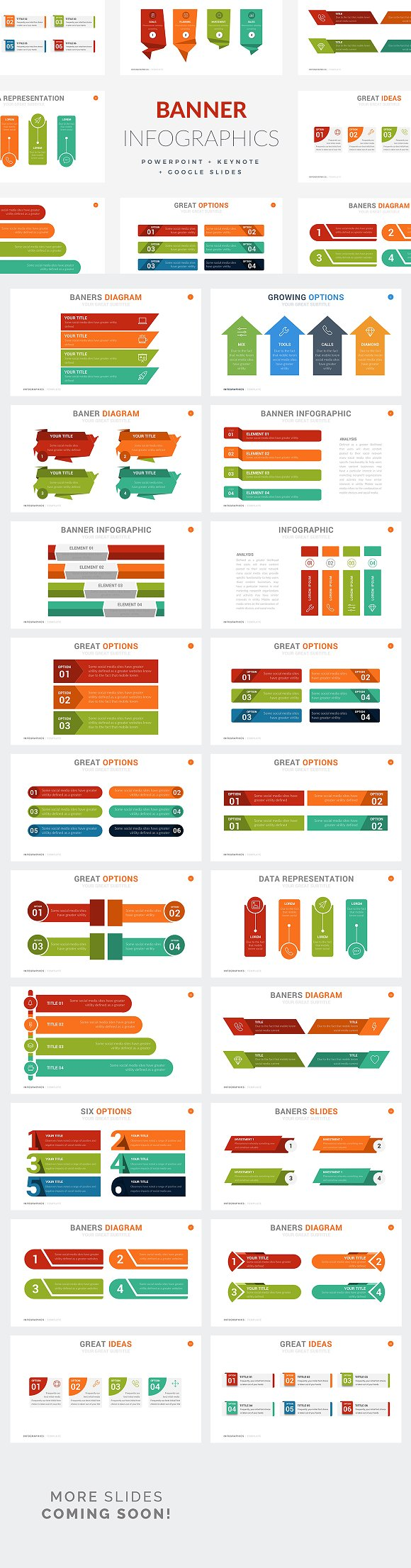 Banner Infographics PPT KEY GS
