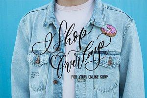 Online store overlays