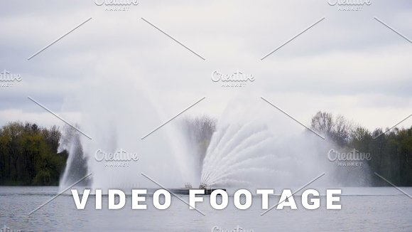 Big Fountain In Minsk Slowmotion 180 Fps