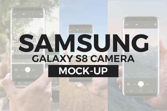 Galaxy S8 Camera Mock-Up