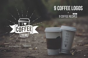 Coffee logos and recipes