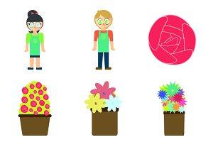 florist icons