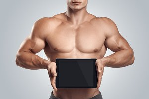 Fitness and sports mockups