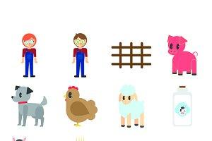 Farmers icons