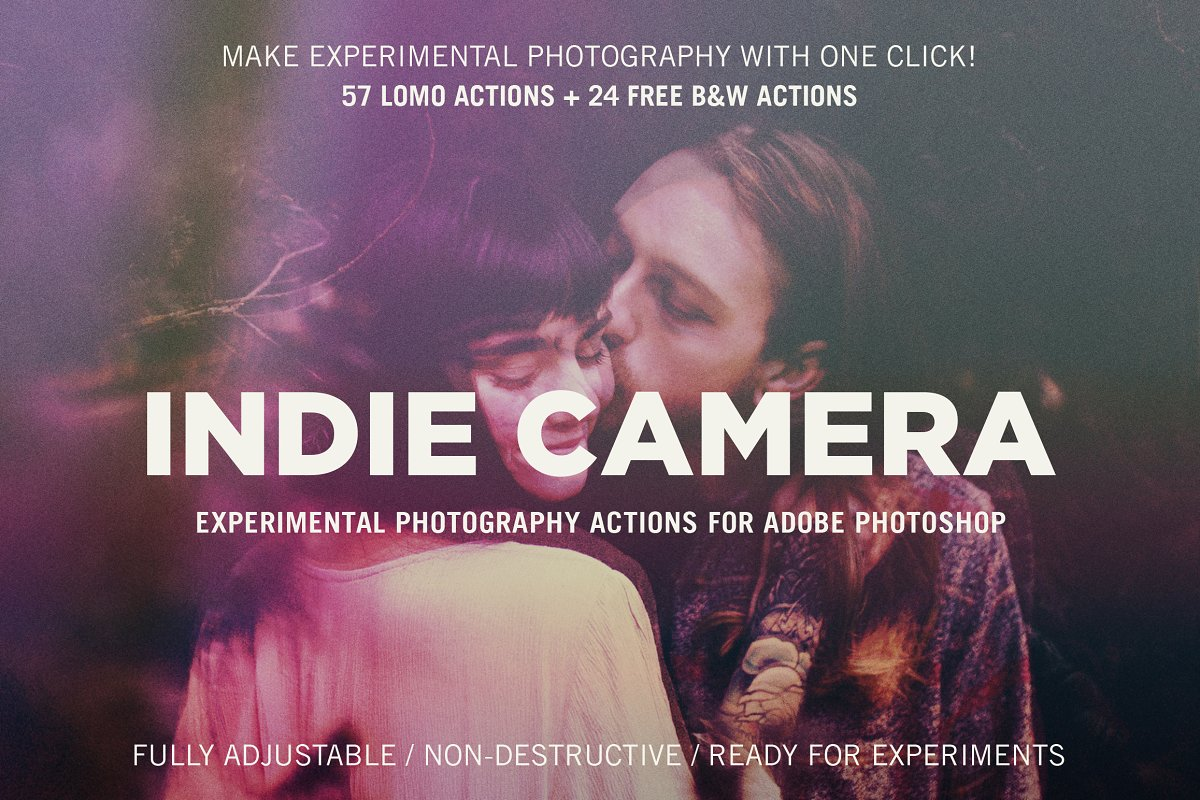 Indie Camera for Adobe Photoshop ~ Photoshop Add-Ons