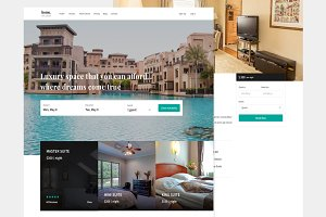 Home - Hotel Sketch Template