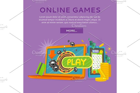 Online Casino On Tablet Computer And Laptop
