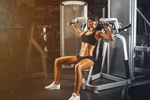 Workout on special sport equipment