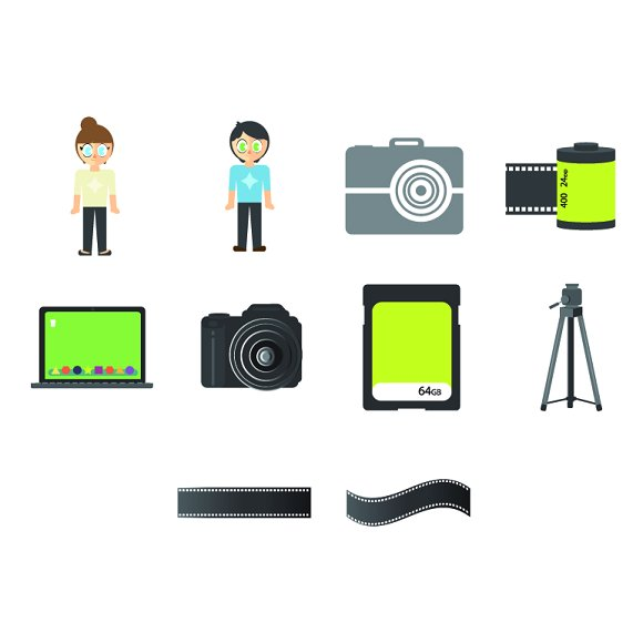 Photographers Icons