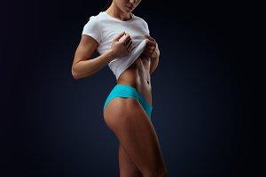 Perfect female body shape