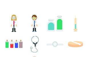 Doctors icons