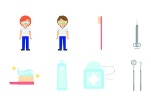 Dentists icons