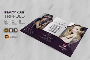 Popular Beauty Salon Tri-Fold