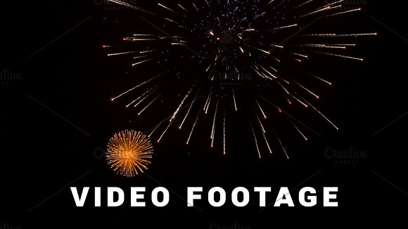 Fireworks In The City Day Of Victory Slowmotion 60 Fps