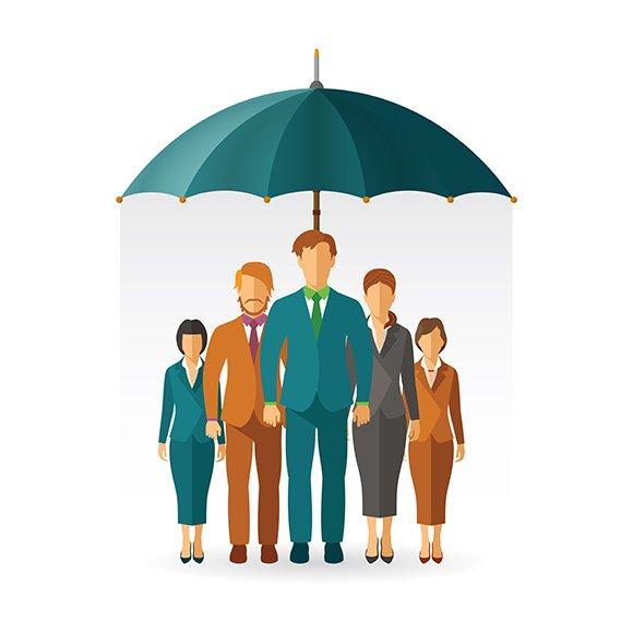 Personnel Insurance Concept