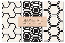 Geometric Seamless Patterns Set 20