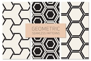 Geometric Seamless Patterns Set 20