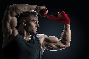 Sportsman ready for training