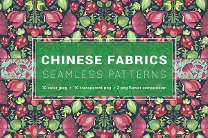 10 + 10 Chinese Seamless Patterns