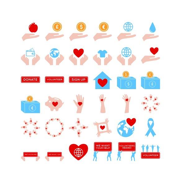 Volunteering Icons