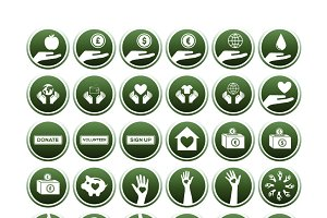 Volunteer icons