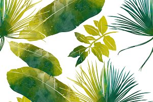 tropic seamless pattern | JPEG