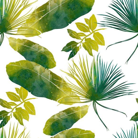 Tropic Seamless Pattern JPEG
