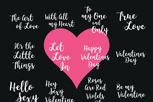 Valentines words
