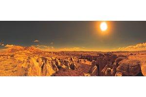 mountain landscape. Cappadocia