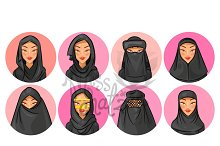 Hijab Avatars