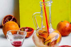 Preparations orange juice