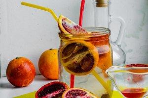vegetarian citrus cocktail