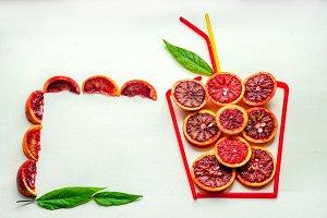 ripe orange for health