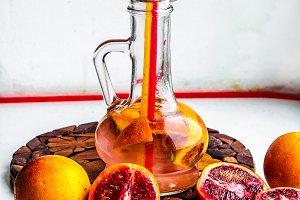 Sliced oranges Cocktail