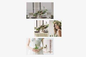 Botanica II Post Layout Bundle